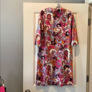 Jude Connally Dresses - Jude Connally Print Shirt Dress